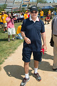 Former New York City Police Commissioner Ray Kelly attends the Hampton Artists vs Writers 67th Annual Softball Game at Herrick Park on August 15 2015...