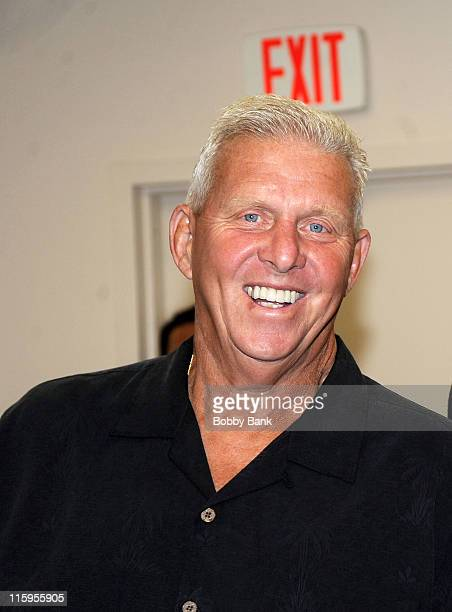 Former New York Giants coach Bill Parcells attends the 25th Anniversary Celebration of the 1986 New York Giants at the Meadowlands Exposition Center...