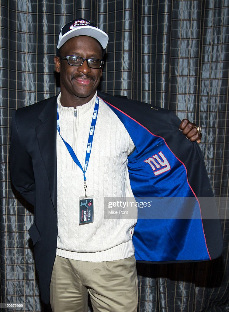 Former New York Giants football player Stephen Baker attends MDA's 17th Annual Muscle Team Benefit and Gala at The Lighthouse at Chelsea Piers on November 19, 2013 in New York City.