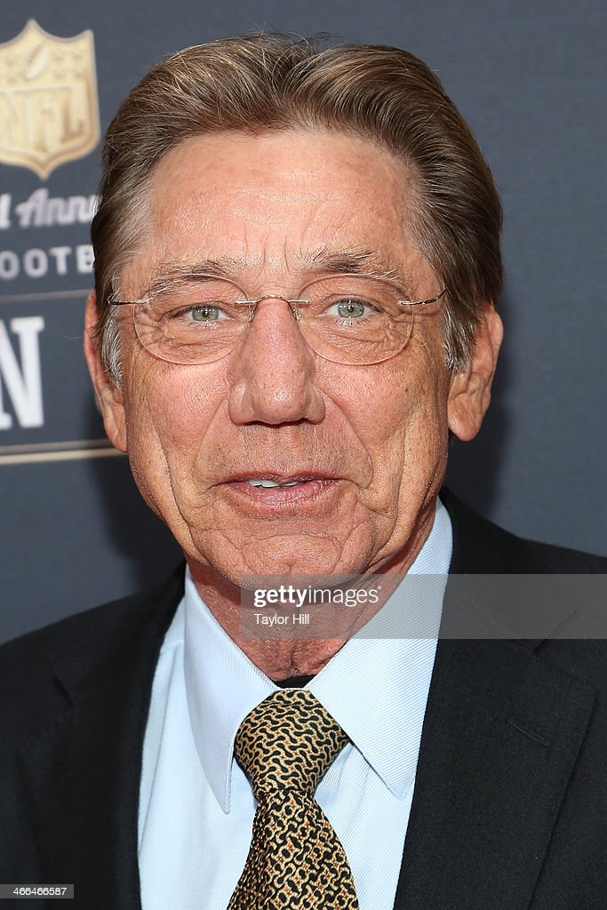 Former New York Jets quarterback <a gi-track='captionPersonalityLinkClicked' href=/galleries/search?phrase=Joe+Namath&family=editorial&specificpeople=91230 ng-click='$event.stopPropagation()'>Joe Namath</a> attends the 3rd Annual NFL Honors at Radio City Music Hall on February 1, 2014 in New York City.