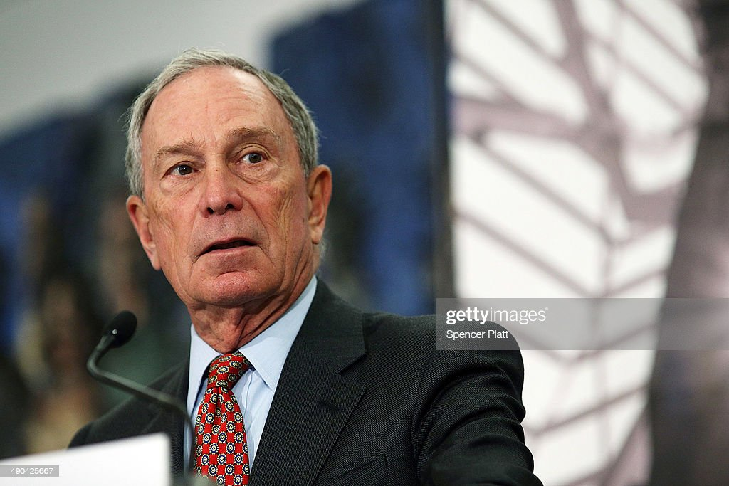 Former New York Mayor <a gi-track='captionPersonalityLinkClicked' href=/galleries/search?phrase=Michael+Bloomberg&family=editorial&specificpeople=171685 ng-click='$event.stopPropagation()'>Michael Bloomberg</a> speaks at a news conference at the September 11 Memorial Museum before a press tour on May 14, 2014 in New York City. The long awaited museum will open to the public on May 21 following a six-day dedication period for 9/11 families, survivors, first responders ,workers, and local city residents. For the dedication period the doors to the museum will be open for 24-hours a day from May 15 through May 20. On Thursday President Barack Obama and the first lady will attend the dedication ceremony for the opening of the museum. While the construction of the museum has often been fraught with politics and controversy, the exhibitions and displays seek to pay tribute to the 2,983 victims of the 9/11 attacks and the 1993 bombing while also educating the public on the September 11 attacks on the World Trade Center, the Pentagon and in Pennsylvania.