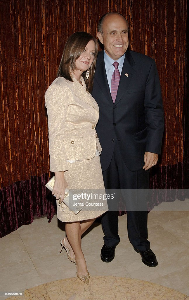 Former New York Mayor Rudolph Giuliani and wife Judith Giuliani