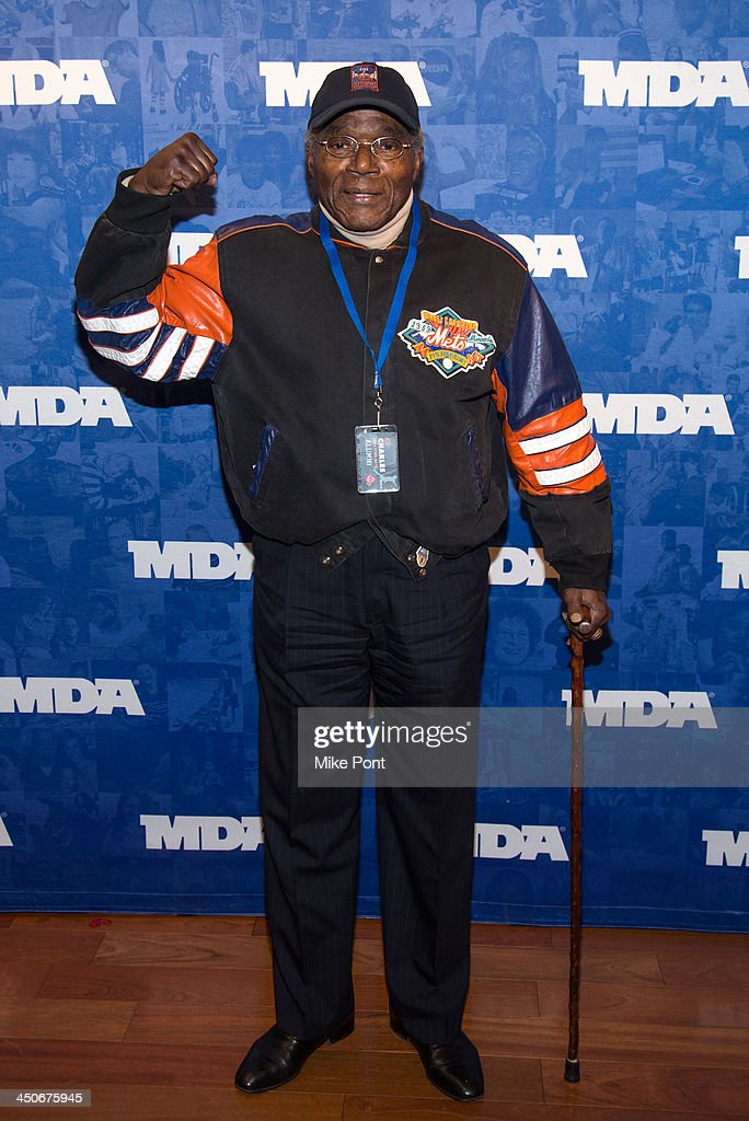 Former New York Mets baseball player Ed Charles attends MDA's 17th Annual Muscle Team Benefit and Gala at The Lighthouse at Chelsea Piers on November 19, 2013 in New York City.