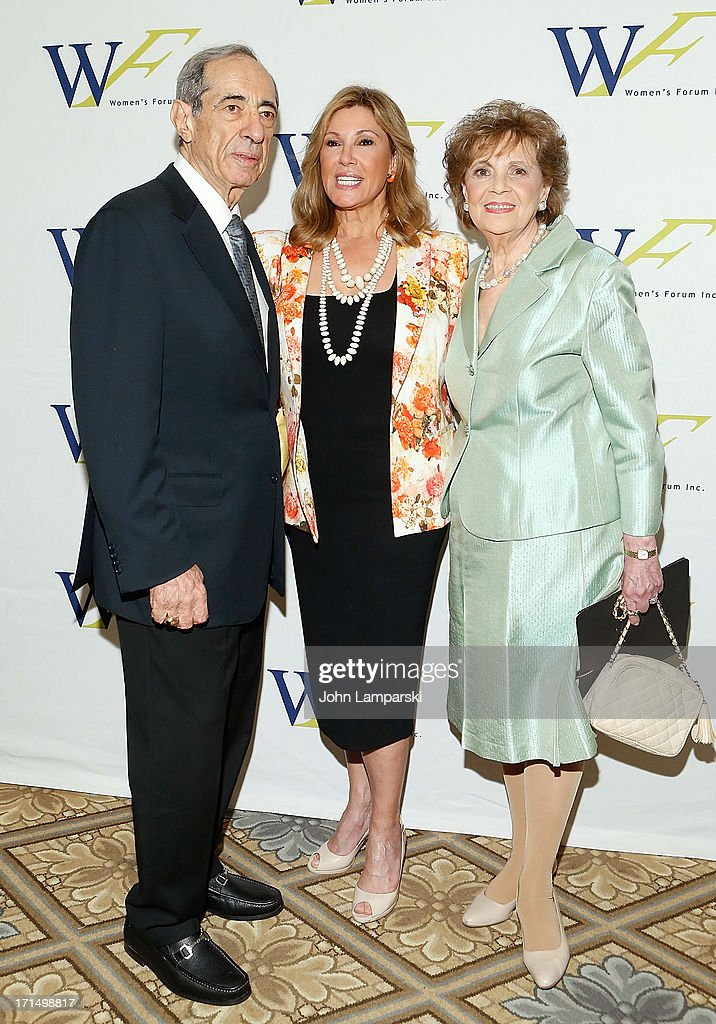 Former New York State Governor Mario Cuomo Maria Cuomo Cole and Matilda Raffa Cuomo attend The 3rd Annual Elly Awards Luncheon at The Plaza Hotel on...