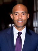 Former New York Yankees pitcher Mariano Rivera attends the 35th annual Big Brothers Big Sisters Sidewalks Of New York Awards Dinner at The Waldorf...
