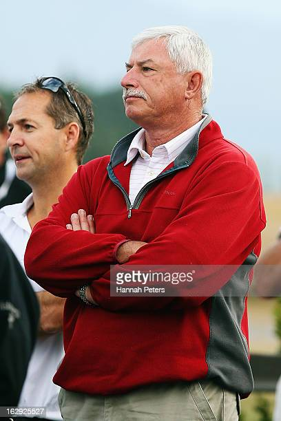 Former New Zealand cricketer Sir Richard Hadlee attends a powhiri prior to the start of the PGA Challenge the ancillary event to the NZ PGA...