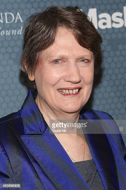 Former New Zealand Prime Minister and UNDP head Helen Clark attends the 2014 Social Good Summit at 92Y on September 21 2014 in New York City