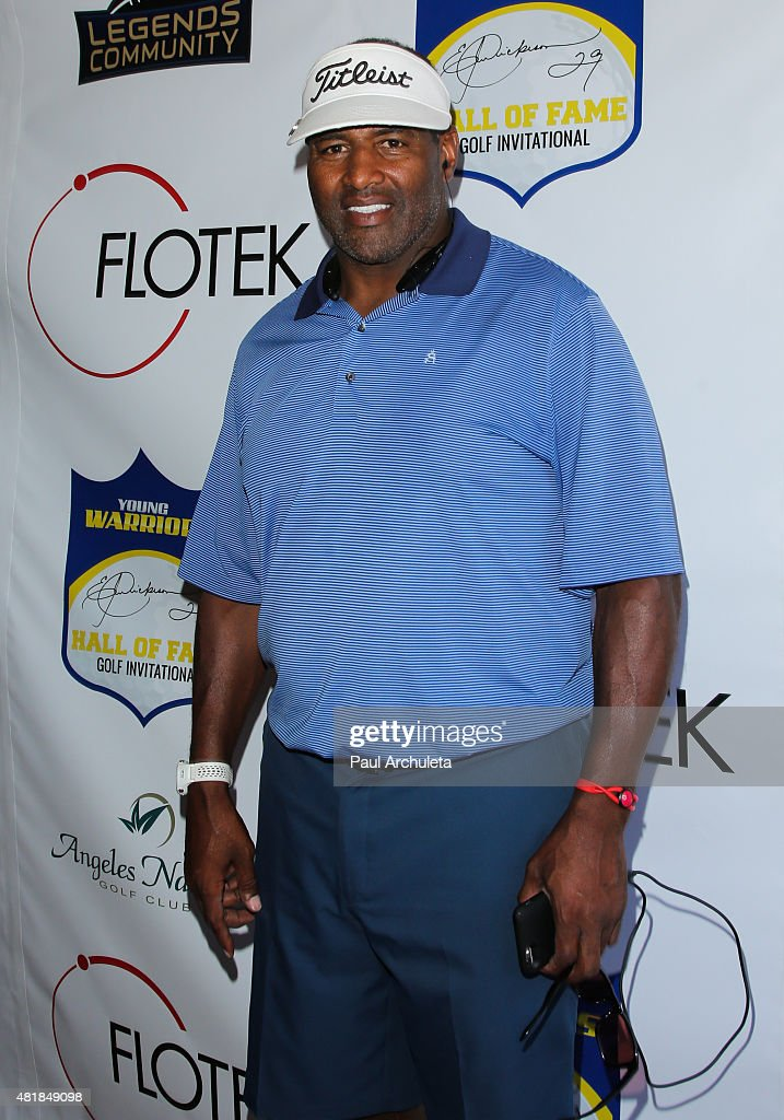 Former NFL Defensive End <a gi-track='captionPersonalityLinkClicked' href=/galleries/search?phrase=Richard+Dent&family=editorial&specificpeople=240277 ng-click='$event.stopPropagation()'>Richard Dent</a> attends the 2nd annual Hall Of Fame Golf Invitational benefiting The Young Warriors Foundation at Angeles National Golf Club on July 24, 2015 in Sunland, California.