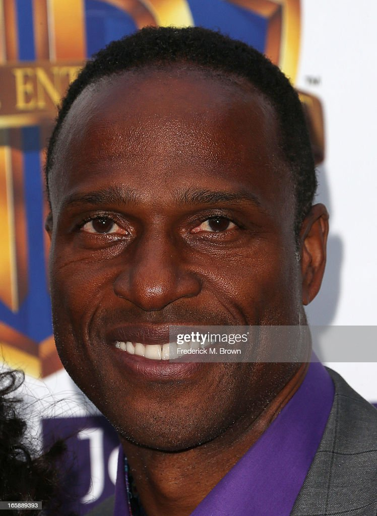 Former NFL football player Willie Gault attends the 2013 Jenesse Silver Rose Awards Gala and Auction at Vibiana on April 6, 2013 in Los Angeles, California.