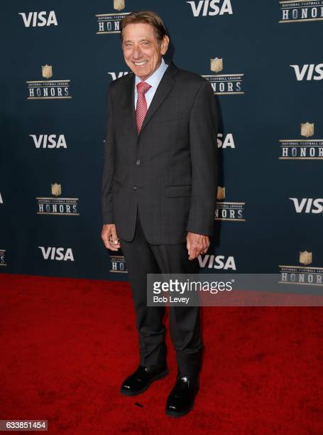 Former NFL player and actor Joe Namath attends 6th Annual NFL Honors at Wortham Theater Center on February 4 2017 in Houston Texas