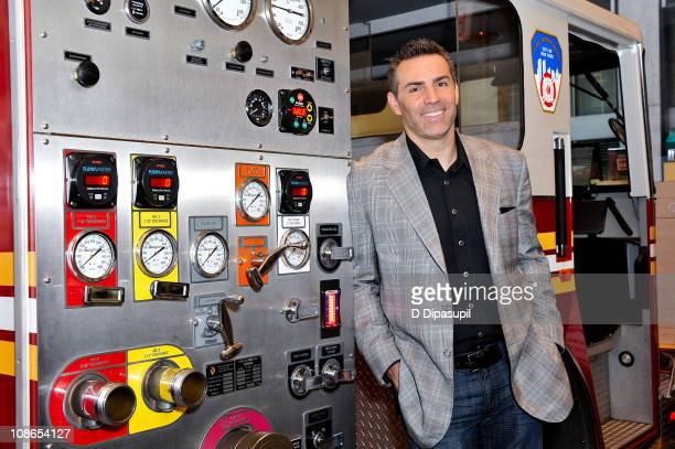 Former NFL player and TV personality Kurt Warner attends Duracell's Power Those Who Protect Us campaign launch at the FDNY Fire Zone on January 31...