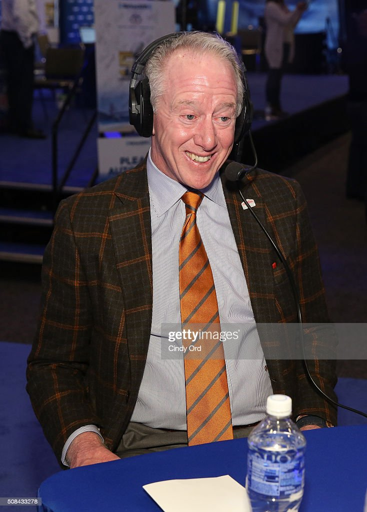 Former NFL player <a gi-track='captionPersonalityLinkClicked' href=/galleries/search?phrase=Archie+Manning&family=editorial&specificpeople=453294 ng-click='$event.stopPropagation()'>Archie Manning</a> attends SiriusXM at Super Bowl 50 Radio Row at the Moscone Center on February 4, 2016 in San Francisco, California.