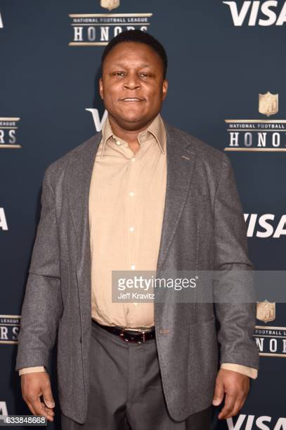 Former NFL player Barry Sanders attends 6th Annual NFL Honors at Wortham Theater Center on February 4 2017 in Houston Texas