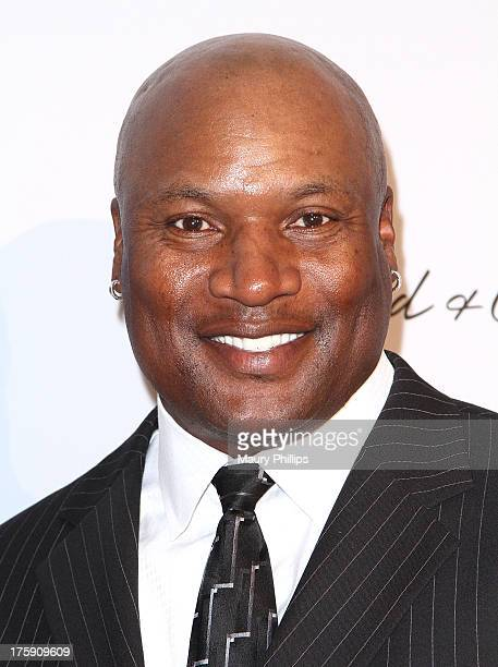 Former NFL player Bo Jackson arrives at The Harold Carole Pump Foundation's 13th Annual Gala at The Beverly Hilton Hotel on August 9 2013 in Beverly...