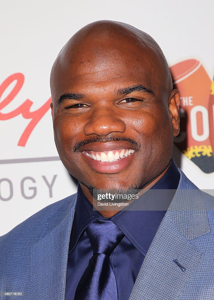 Former NFL player Curtis Conway attends the 2015 Sports Humanitarian of the Year Awards at the Conga Room at LA Live on July 14 2015 in Los Angeles...