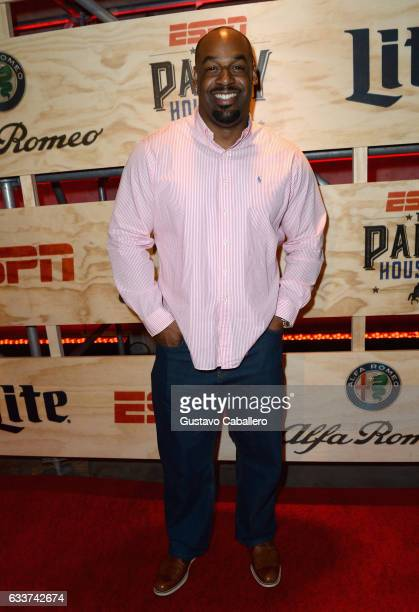Former NFL player Donovan McNabb attends the 13th Annual ESPN The Party on February 3 2017 in Houston Texas
