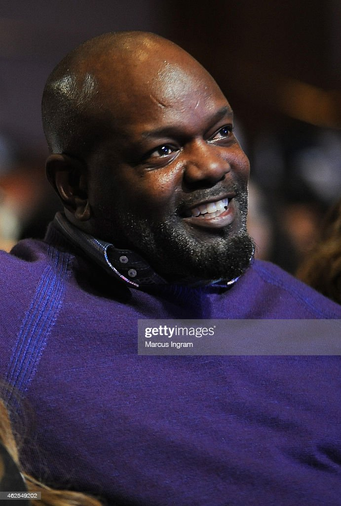 Former NFL player Emmitt Smith attends the 16th Annual Super Bowl Gospel Celebration at ASU Gammage on January 30 2015 in Tempe Arizona