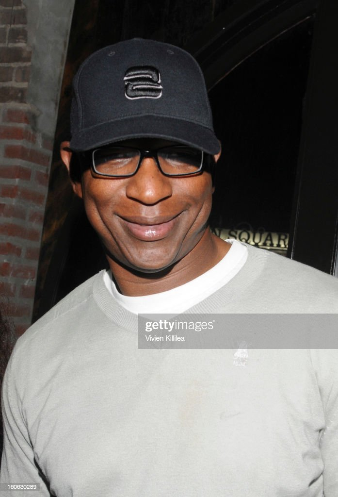Former NFL player Eric Dickerson attends Greenhouse And Talent Resources Sports Host Super Sunday NOLA After Party at Jax Brewery on February 3, 2013 in New Orleans, Louisiana.