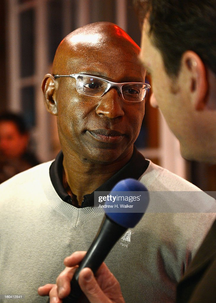 Former NFL player <a gi-track='captionPersonalityLinkClicked' href=/galleries/search?phrase=Eric+Dickerson&family=editorial&specificpeople=224731 ng-click='$event.stopPropagation()'>Eric Dickerson</a> attends the 6th Annual Moves Magazine Super Bowl Party at Metropolitan Nightclub on January 30, 2013 in New Orleans, Louisiana.