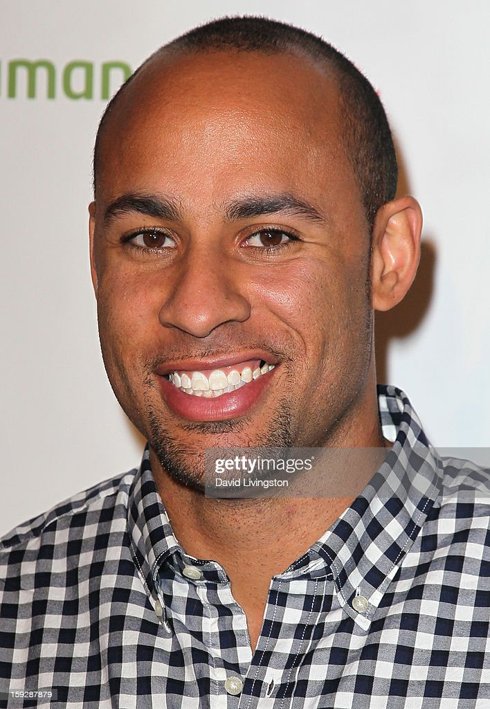 Form,er NFL player <a gi-track='captionPersonalityLinkClicked' href=/galleries/search?phrase=Hank+Baskett&family=editorial&specificpeople=749185 ng-click='$event.stopPropagation()'>Hank Baskett</a> attends the Kentucky Derby Prelude Party at The London West Hollywood on January 10, 2013 in West Hollywood, California.