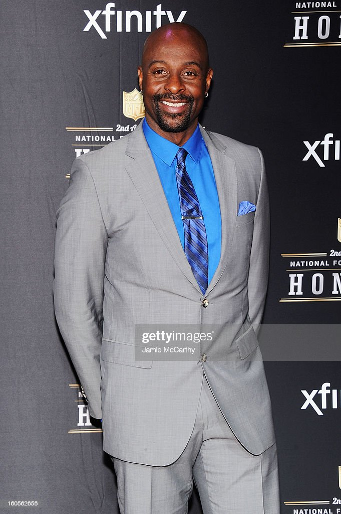 Former NFL player Jerry Rice attends the 2nd Annual NFL Honors at Mahalia Jackson Theater on February 2, 2013 in New Orleans, Louisiana.