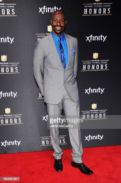 Former NFL player Jerry Rice attends the 2nd Annual NFL Honors at Mahalia Jackson Theater on February 2 2013 in New Orleans Louisiana