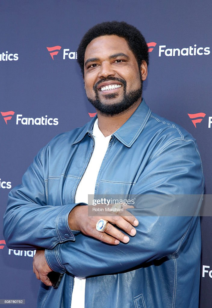 Former NFL player <a gi-track='captionPersonalityLinkClicked' href=/galleries/search?phrase=Jonathan+Ogden&family=editorial&specificpeople=216522 ng-click='$event.stopPropagation()'>Jonathan Ogden</a> attends Fanatics Super Bowl Party on February 6, 2016 in San Francisco, California.