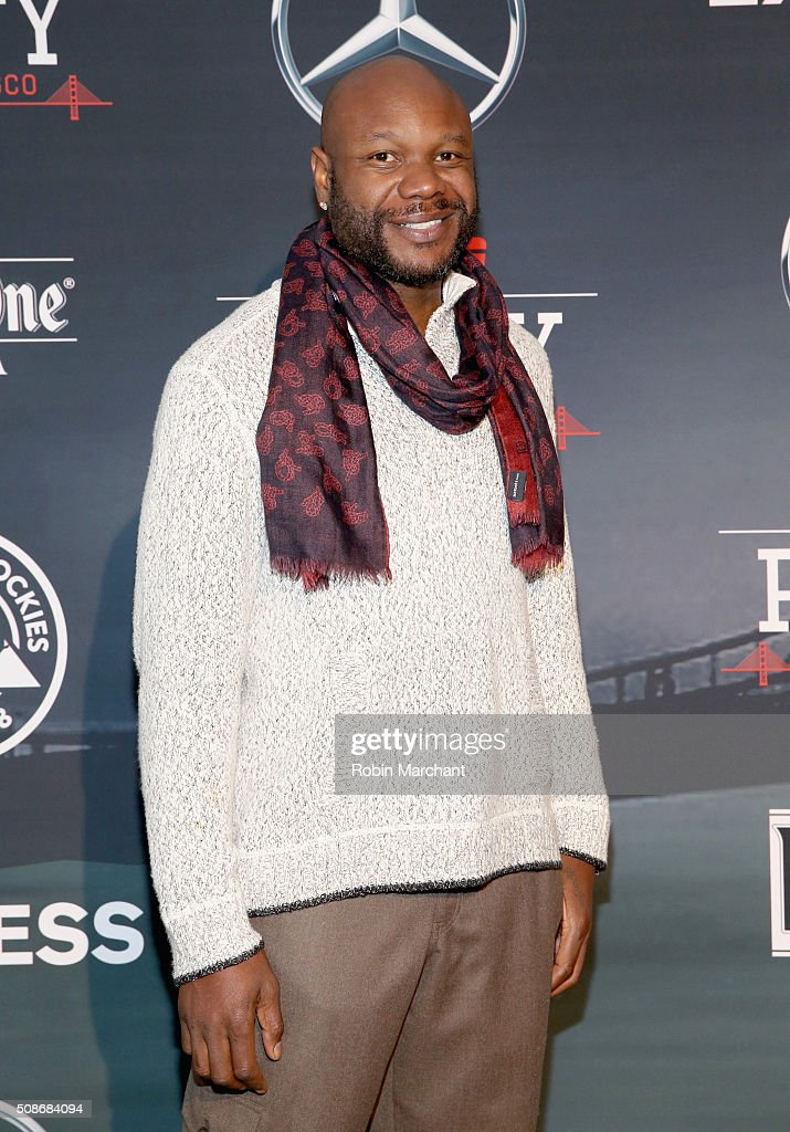 Former NFL player Keith Bulluck attends ESPN The Party on February 5, 2016 in San Francisco, California.