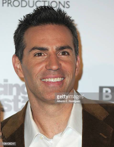 Former NFL player Kurt Warner arrives to ABC's 'Dancing With The Stars' 200th episode party on November 1 2010 in Los Angeles California