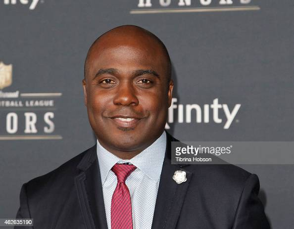 Former NFL player Marshall Faulk attends the 4th Annual NFL Honors at Phoenix Convention Center on January 31 2015 in Phoenix Arizona
