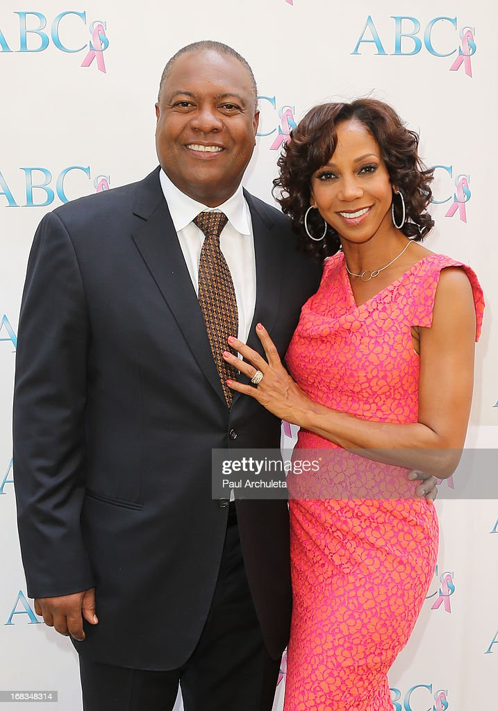 Former NFL Player <a gi-track='captionPersonalityLinkClicked' href=/galleries/search?phrase=Rodney+Peete&family=editorial&specificpeople=220342 ng-click='$event.stopPropagation()'>Rodney Peete</a> (L) and his wife Actress <a gi-track='captionPersonalityLinkClicked' href=/galleries/search?phrase=Holly+Robinson+Peete&family=editorial&specificpeople=213716 ng-click='$event.stopPropagation()'>Holly Robinson Peete</a> (R) attend ABC's Mother's Day luncheon at the Four Seasons Hotel Los Angeles at Beverly Hills on May 8, 2013 in Beverly Hills, California.