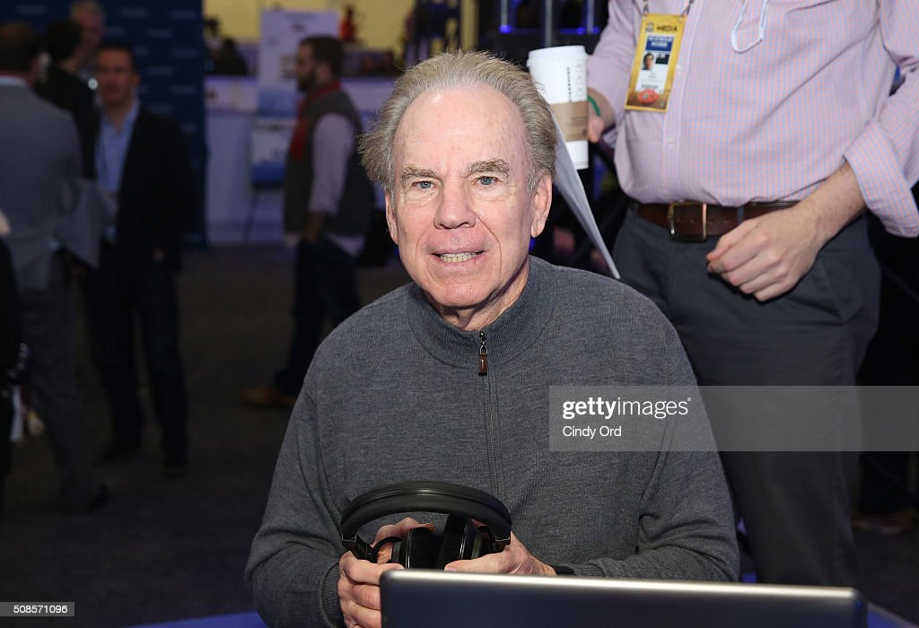 Former NFL player <a gi-track='captionPersonalityLinkClicked' href=/galleries/search?phrase=Roger+Staubach&family=editorial&specificpeople=208812 ng-click='$event.stopPropagation()'>Roger Staubach</a> visits the SiriusXM set at Super Bowl 50 Radio Row at the Moscone Center on February 5, 2016 in San Francisco, California.