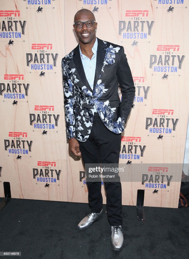 Former NFL player Terrell Owens attends the 13th Annual ESPN The Party on February 3, 2017 in Houston, Texas.