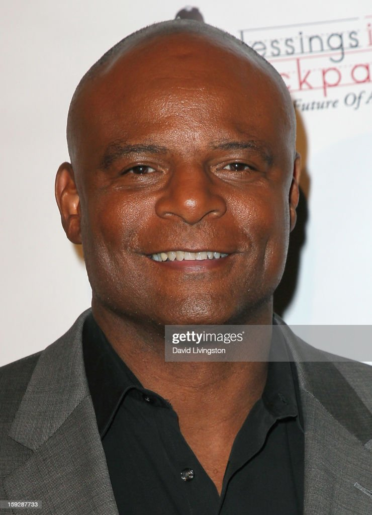 Former NFL player Warren Moon attends the Kentucky Derby Prelude Party at The London West Hollywood on January 10, 2013 in West Hollywood, California.
