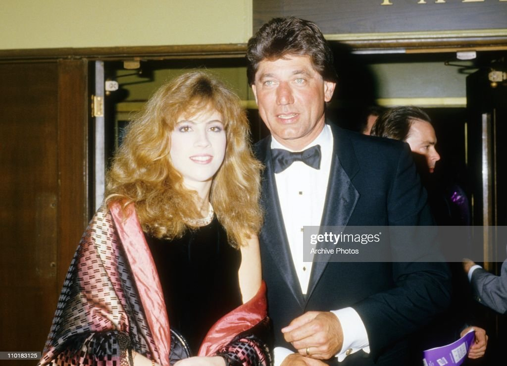 Former NFL quarterback Joe Namath and his wife Deborah Mays pose during the 1980's.