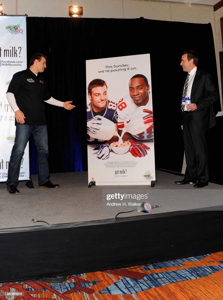 Former NFL Quarterback Kurt Warner attends Kurt Warner Unveiling of New National Milk Mustache 'got milk' Campaign Super Bowl Ad Featuring New...