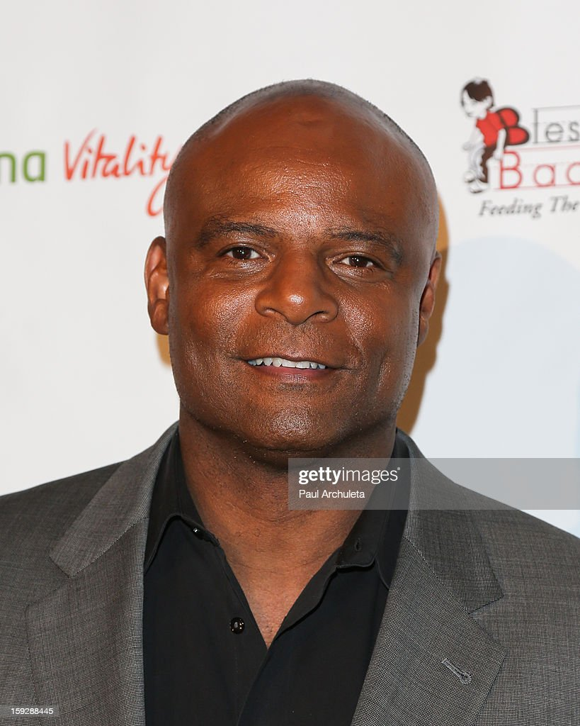 Former NFL Quarterback Warren Moon attends the Los Angeles Unbridled Derby prelude party at The London Hotel on January 10, 2013 in West Hollywood, California.
