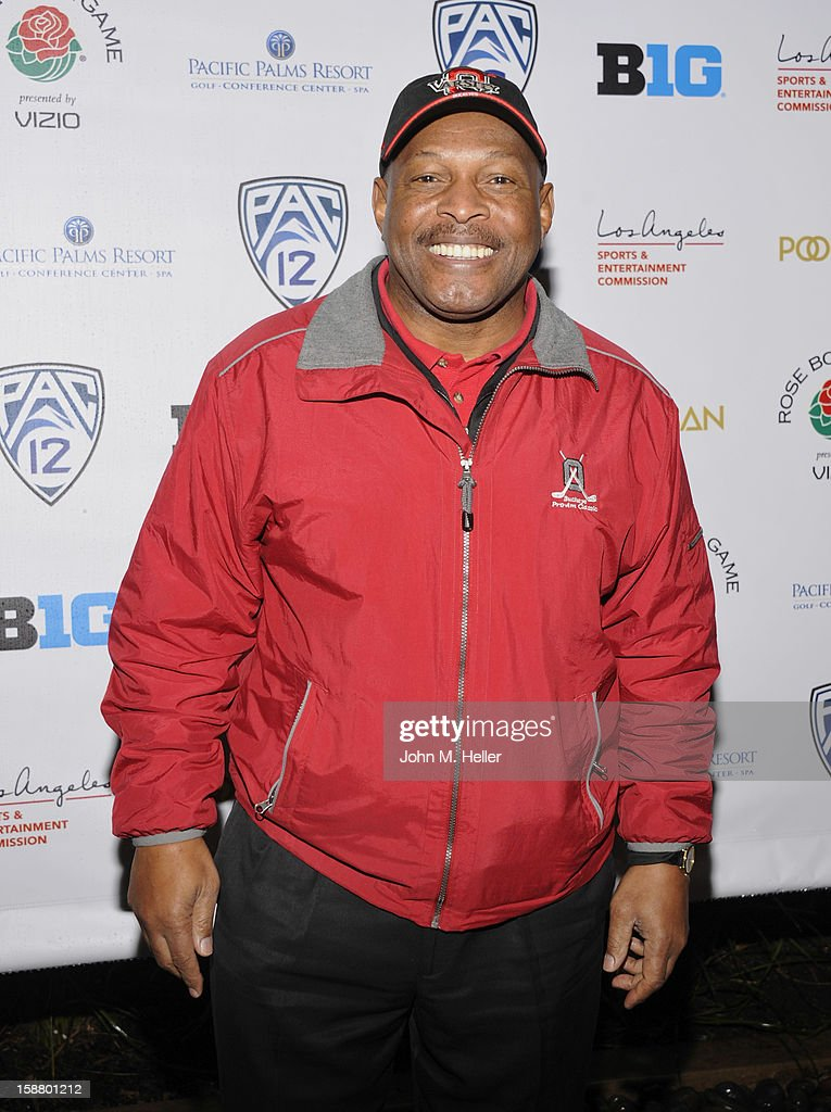 Former NFL running back Archie Griffin attends the first annual Rose Bowl Golf Classic at the Pacific Palms Resort & Hotel on December 29, 2012 in City of Industry, California.