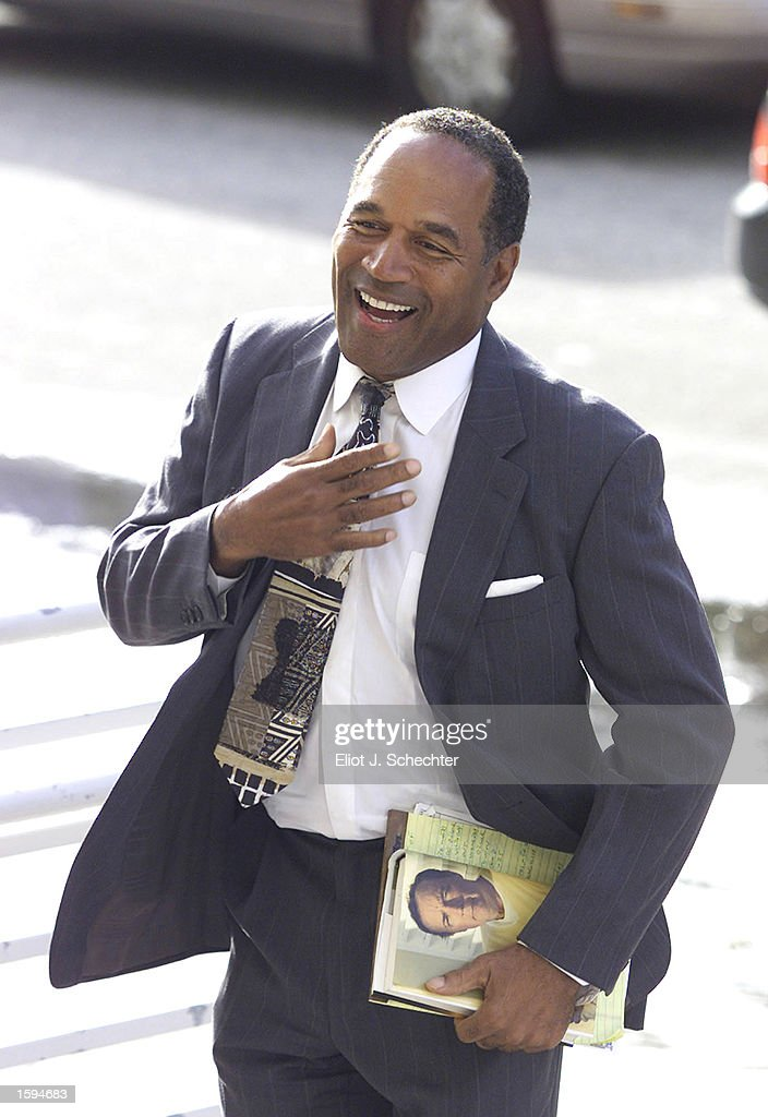 Marvelous Miami Dade Bench Warrant Search Part - 13: Former NFL Star And Actor O.J. Simpson Arrives At Miami-Dade County  Courthouse For His
