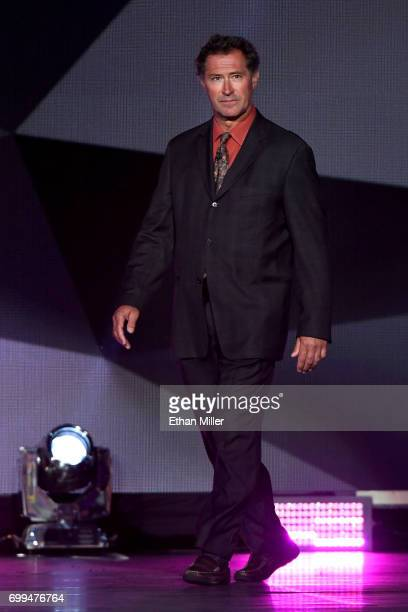Former NHL player Bobby Carpenter speaks during the 2017 NHL Awards and Expansion Draft at TMobile Arena on June 21 2017 in Las Vegas Nevada