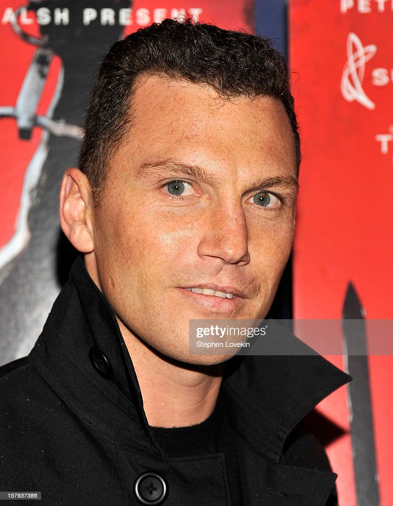 Former NHL player <a gi-track='captionPersonalityLinkClicked' href=/galleries/search?phrase=Sean+Avery&family=editorial&specificpeople=209357 ng-click='$event.stopPropagation()'>Sean Avery</a> attends the New York premiere of 'West Of Memphis' at Florence Gould Hall on December 7, 2012 in New York City.