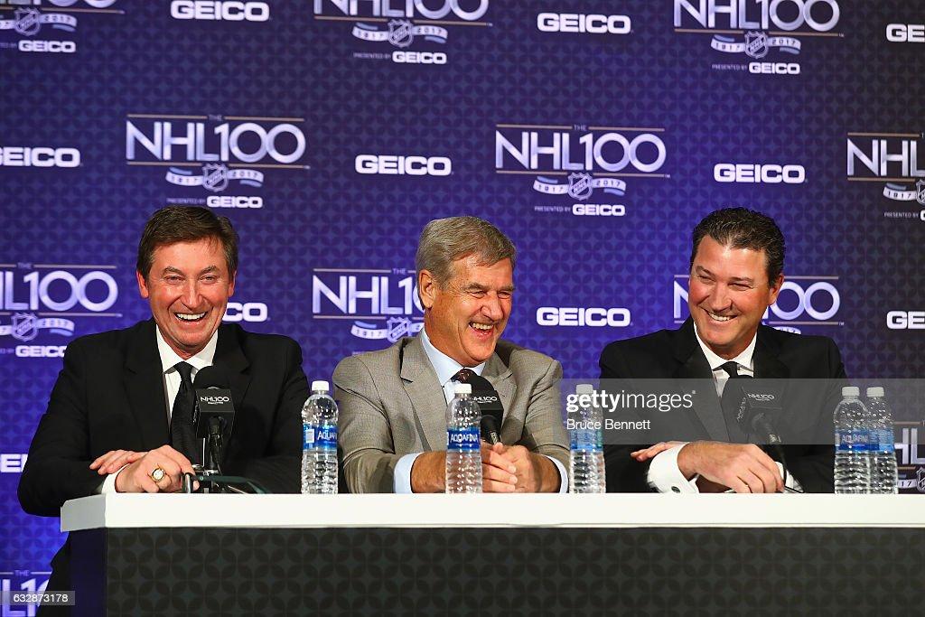 The NHL 100 - Media Availability
