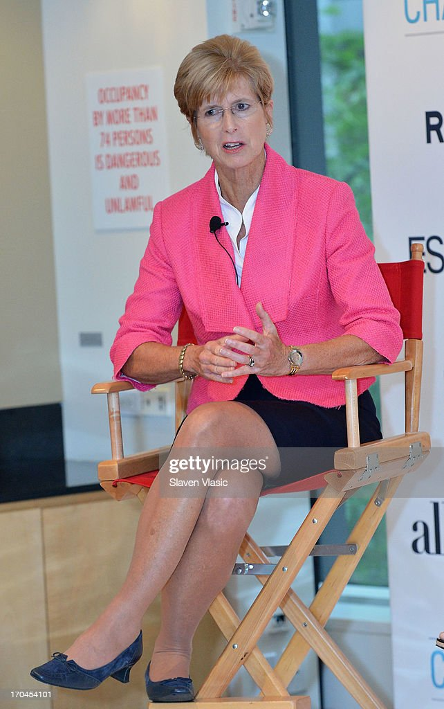 Former N.J. Governer Christine Todd Whitman attends 'Make One Simple Change' panel and breakfast at Time-Life Building on June 13, 2013 in New York City.