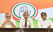 IND: Press Conference Of Congress At All India Congress Committee Headquarters