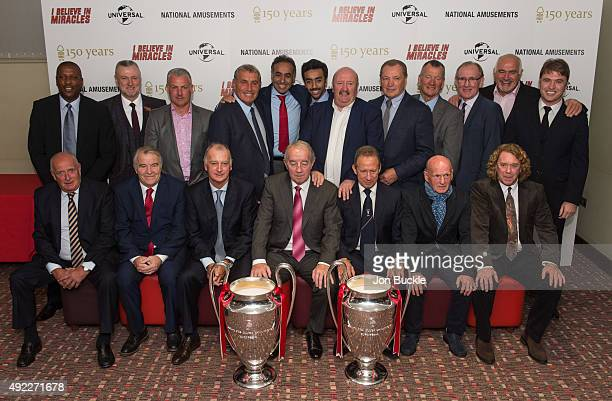Former Nottingham Forest players Trevor Francis Garry Birtles Viv Anderson Larry Lloyd John Robertson Kenny Burns Ian Bowyer John McGovern Frank...