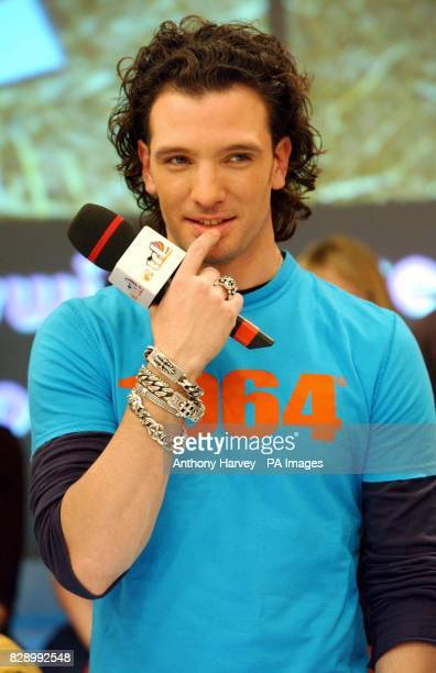 Former N'Sync's JC Chasez during his guest appearance on MTV's TRL UK at the MTV Studios in Camden north London The singer collaborated with Basement...