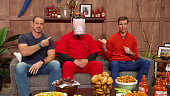 Eli Manning and Frank's RedHot Host Virtual Tailgate
