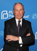 Former NYC Mayor Michael Bloomberg attends the Planned Parenthood Federation Of America's 2014 Gala Awards Dinner at the Marriott Wardman Park Hotel...