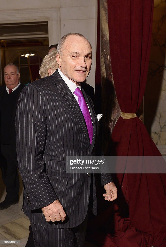 Former NYC Police Commissioner Raymond Kelly attends the after party following the 'Monuments Men' premiere at The Metropolitain Club on February 4, 2014 in New York City.