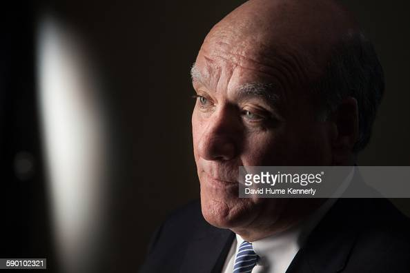 Former Obama White House Chief of Staff William 'Bill' Daley being interviewed for Discovery Channel's 'The Presidents' Gatekeepers' by Chris Whipple...